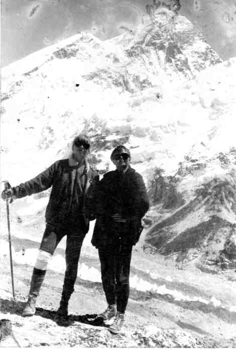The Koch Sisters before Everest, 1984. No Sherpas, no oxygen