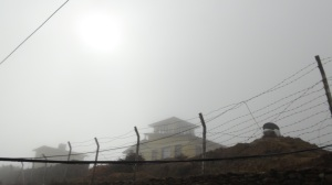 Visibility at kangel airport, day two..