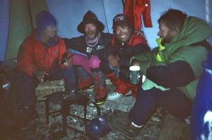 Babu Chhiri Sherpa, JM, Lakpa Sherpa, Macek Berbeka